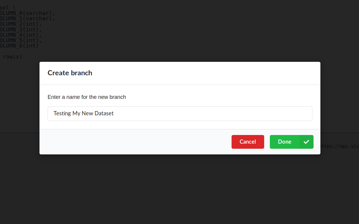 Just trying out something new and different?  Create a branch to keep the projects linked